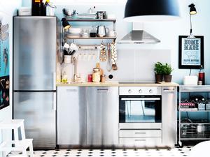 Дизайн кухни от ИКЕА: сказка по доступным ценам