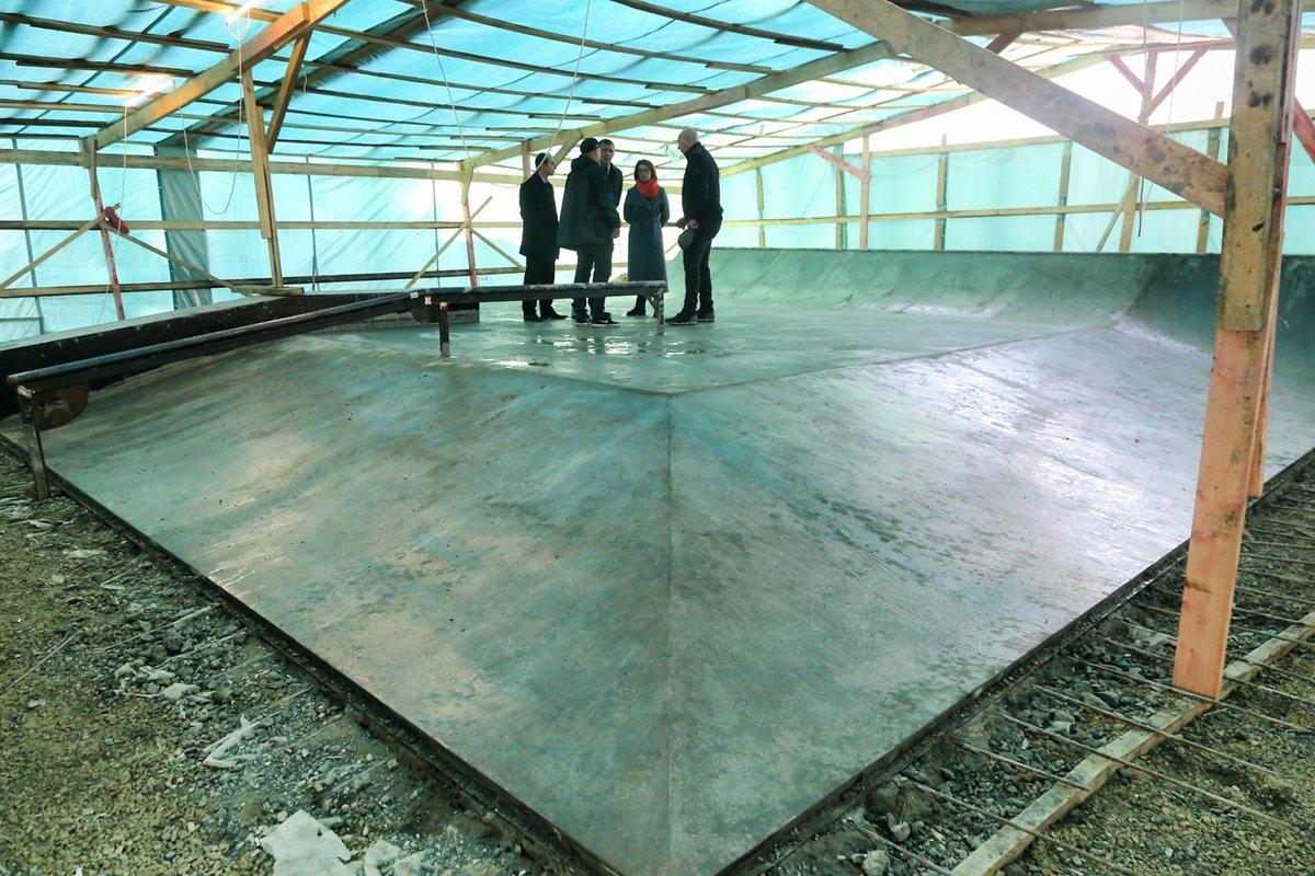 Скейт-парк на стадионе «Труд» откроется в начале декабря - фото 1