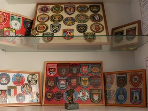 Кстовский сигнуманист представил нижегородцам лучшие экспонаты своей коллекции пожарных шевронов