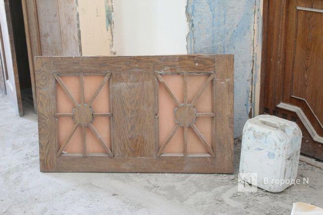 Реставрация исторической лепнины началась в нижегородском Дворце творчества - фото 10