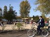 Никитин протестировал круговую велодорожку в Светлоярском парке